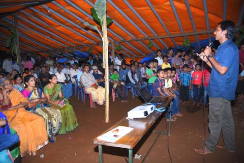 awareness programme agumbe king cobra